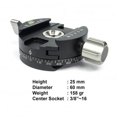 Casiotel CC-P60 Screw-knob Panning Clamp